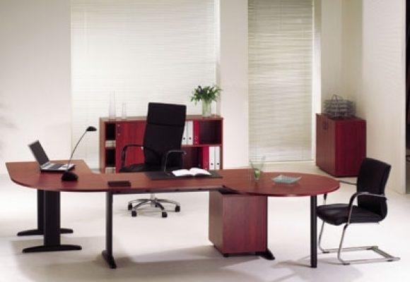 Rohové kancelářské stoly - Kancelářská sestava CENTO