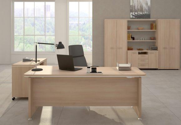 Kancelářské stoly masiv - Kancelářský nábytek NEVADA