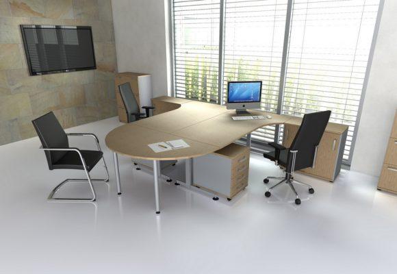 Klasický kancelářský nábytek - Kancelářská sestava NORTON