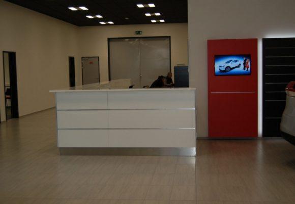 Recepční a prodejní pulty - Recepční pulty GEO