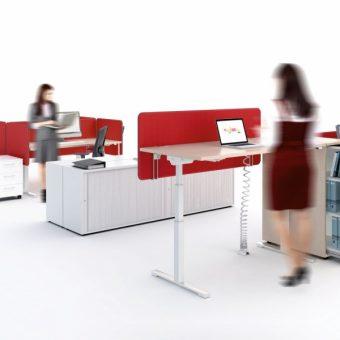 Standardní kancelářský nábytek - Výškově stavitelné stoly