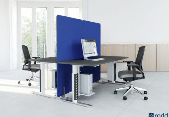 Paravany a dělící příčky do kanceláře - Paravany Sonic a Viva