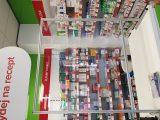 Recepční a prodejní pulty - Volně stojící clona k pultům a recepcím