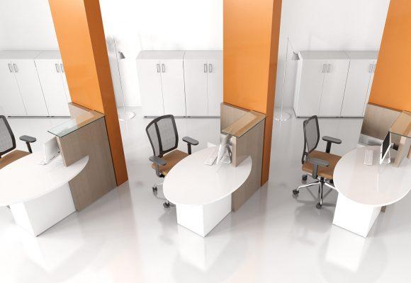 Recepční pulty a stoly - Recepce OVO